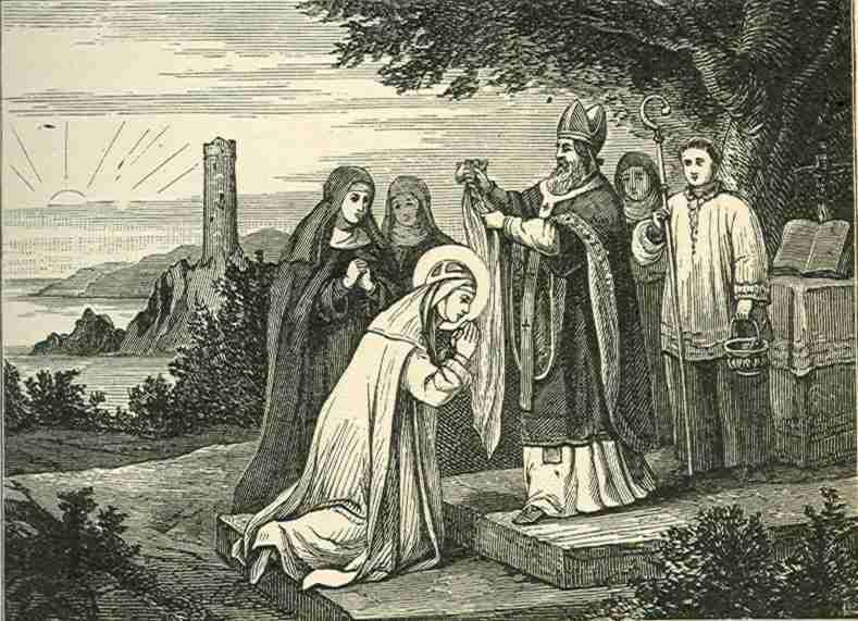 Поставление Святой Бригитты