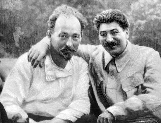 Дзержинский и Сталин