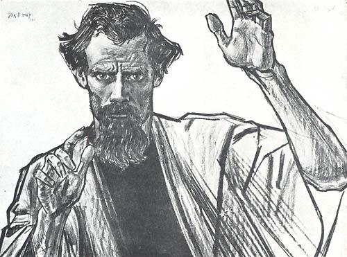 Jan Toorop, H. Paulus, Apostel - 1911