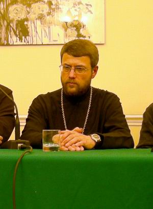 Священник Георгий Завершинский в Дублине