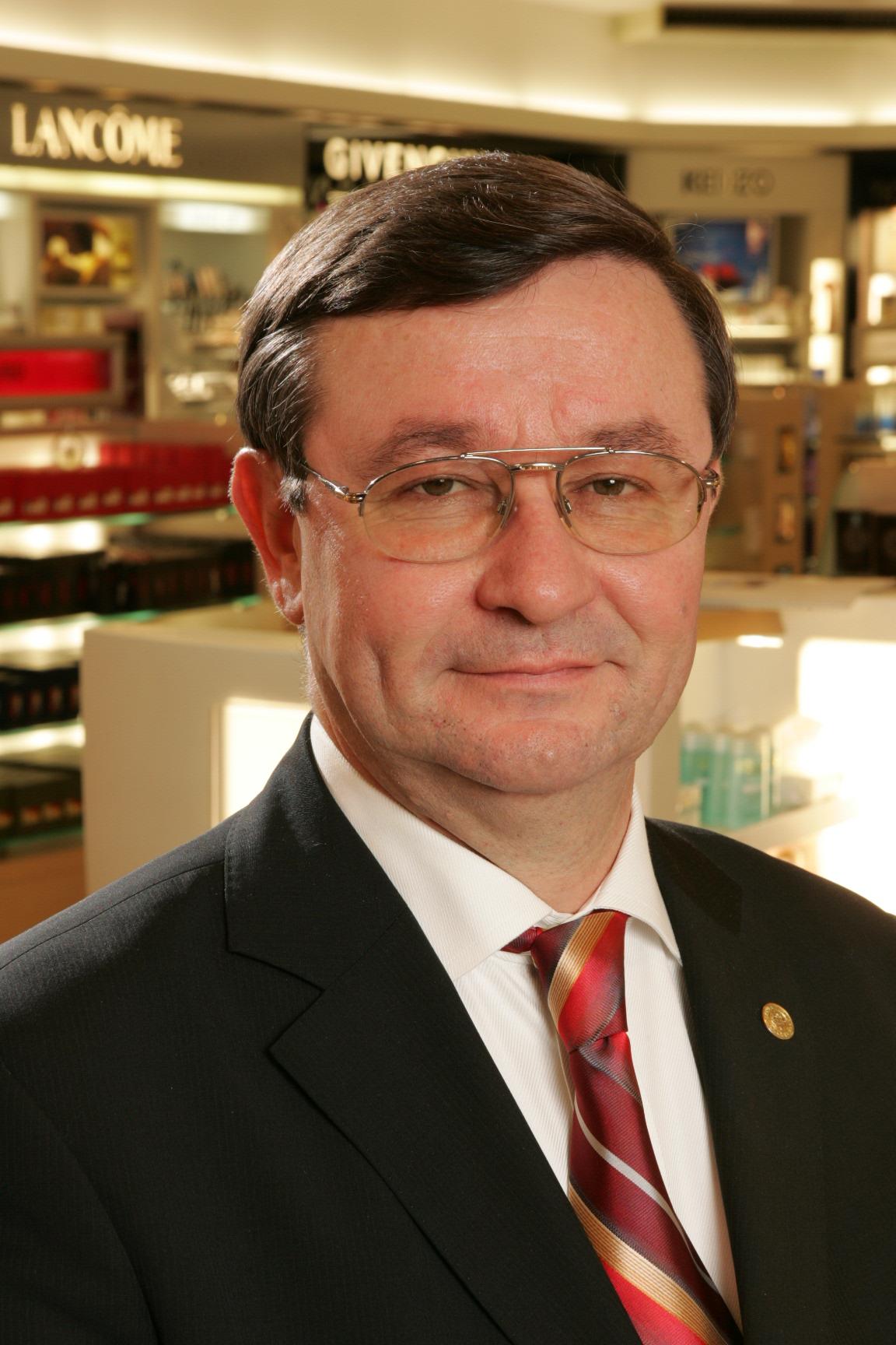 Почётный консул Ирландии в Санкт-Петербурге Анатолий Павлович Шашин