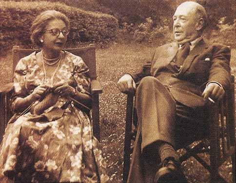 Льюис с женой Джой, gornyj.livejournal.com