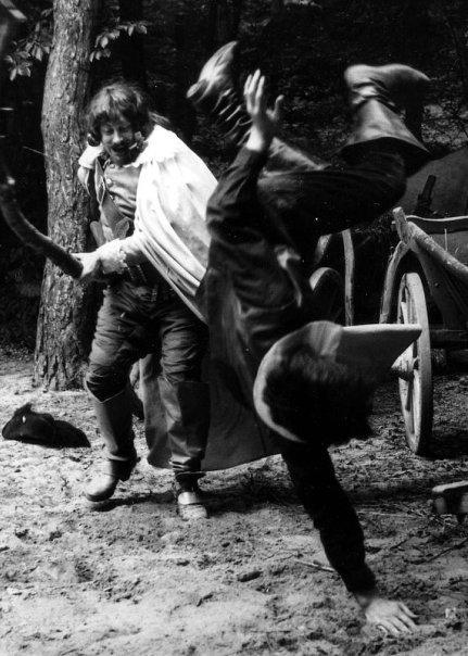 Николай Ващилин падает от удара Портоса,1978