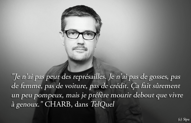 Стефан Шарбоннье, убит 7 января 2015 года в Париже