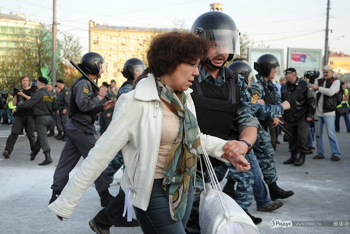 Восстание в Москве 6 мая 2012