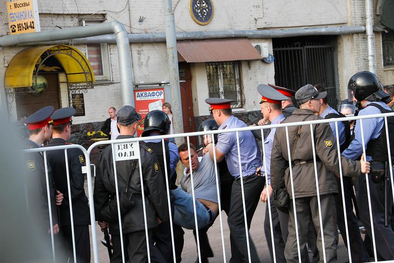 Арест Навального Фотография блогера Gelbert 6 мая2012, Москва