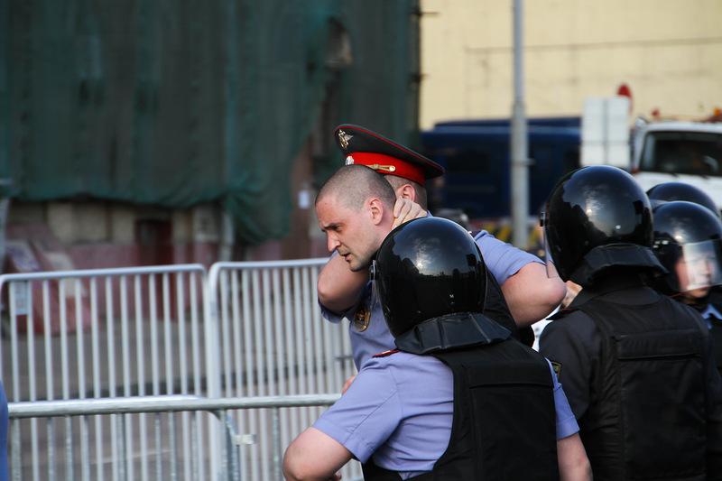 Арест Удальцова Фотография блогера Gelbert 6 мая2012, Москва