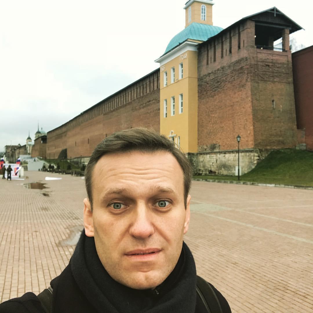 Навальный в Смоленске 12Ноября
