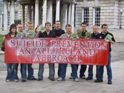 Ирландия: Против самоубийств
