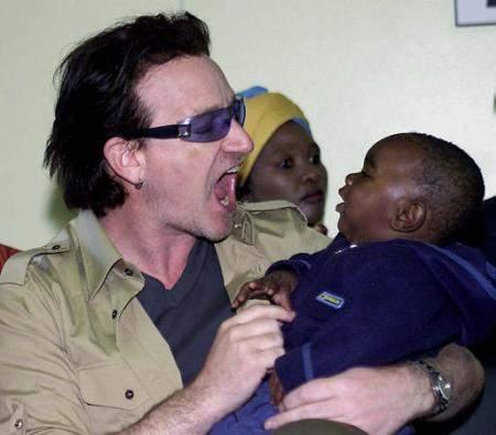 Боно в Африке от Amnesty International