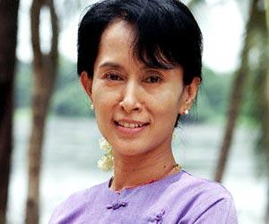 Аун Сан Су Чжи - ирландка Востока