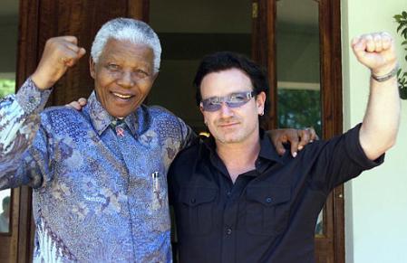 Мандела и Боно