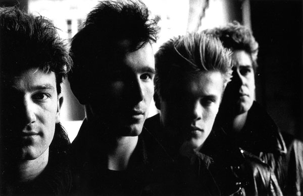 U2 1983 Боно Эдж Ларри Адам