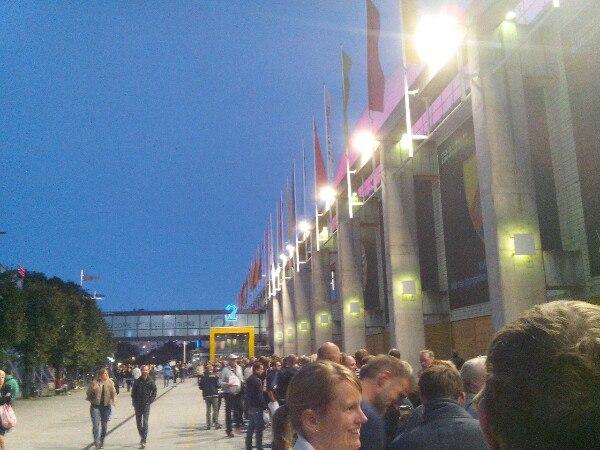 Очередь на концерт U2