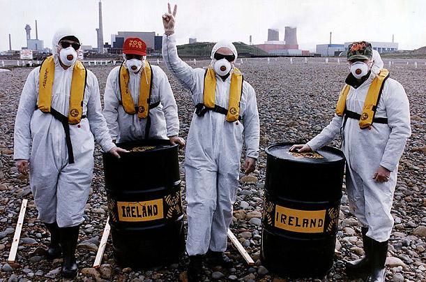 U2 против Селлафилда