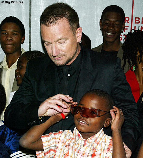 Благотворительные программы для Африки: Боно