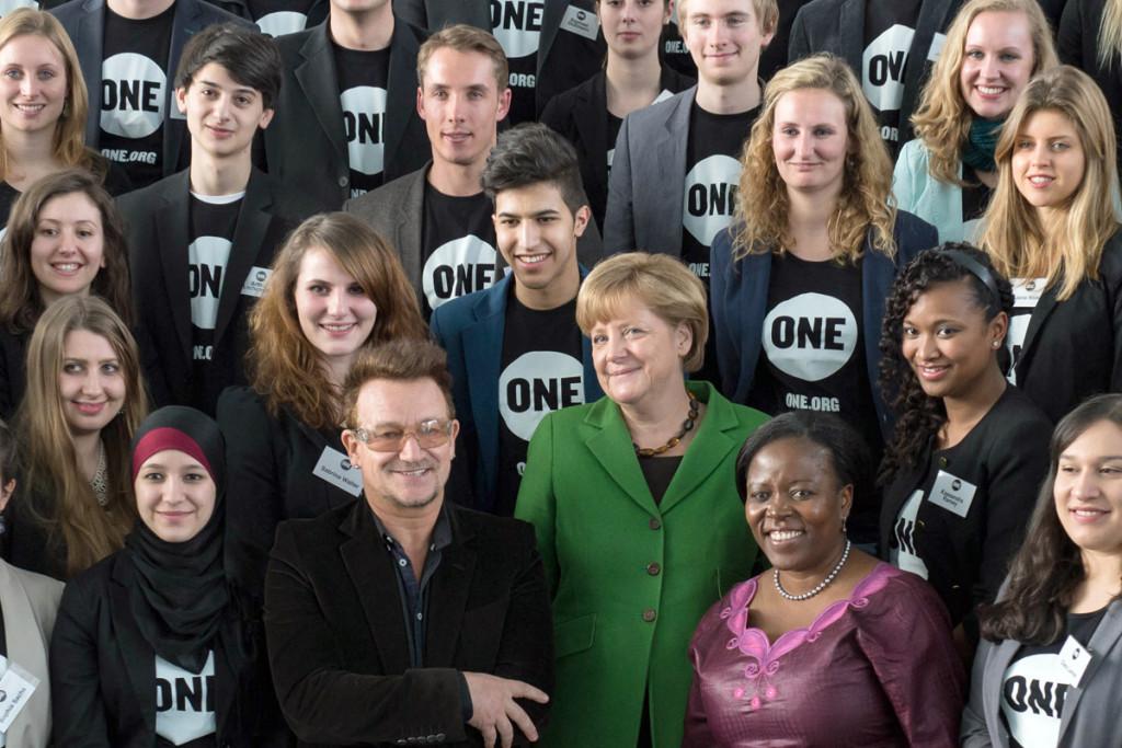Активисты движения One