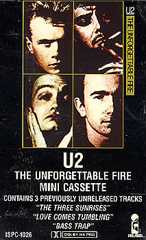 the unforgettable fire, 1984