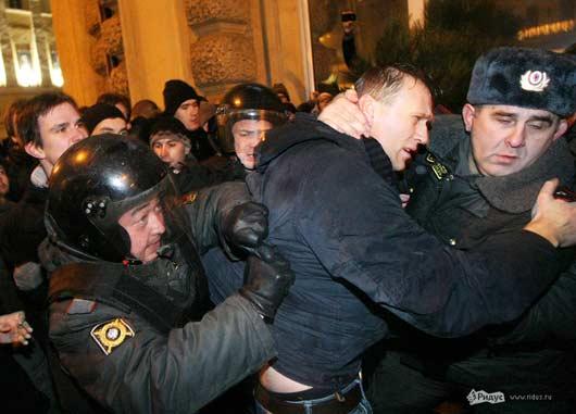 алексей навальный задержан