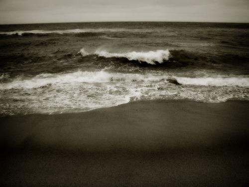 ты уходишь в море
