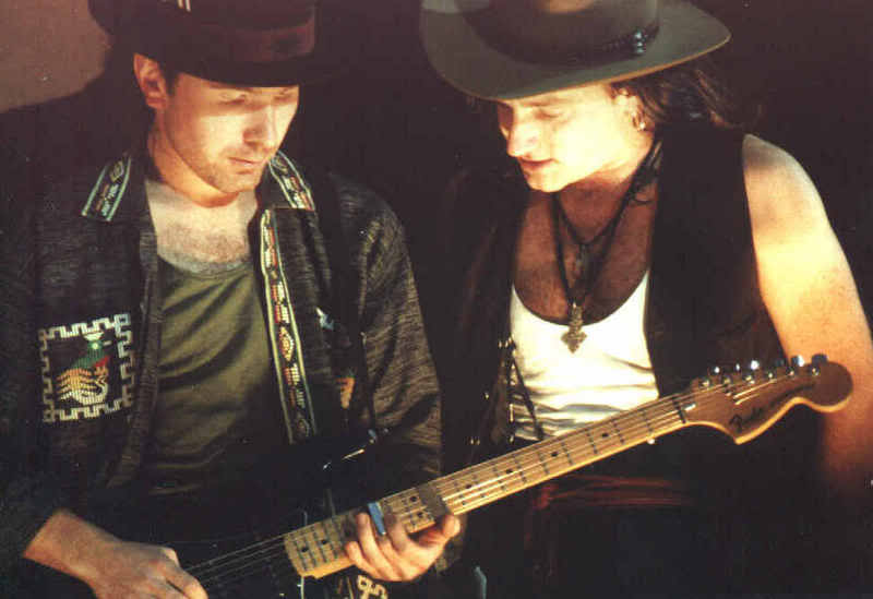 Эдж и Боно